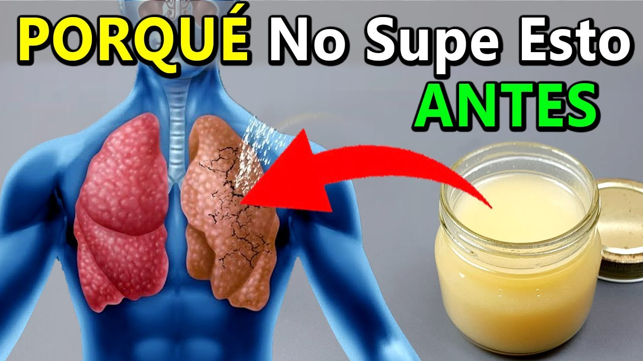 Come Estos 4 Ingredientes Con El Estómago Vacío Y El Moco En Tus Pulmones Desaparecerá Rápidamente