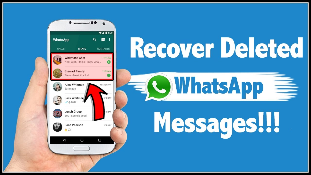 Image result for how to use recover deleted messages on whatsapp