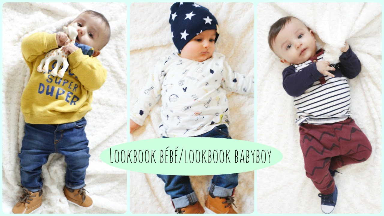 Fabuleux Lookbook bébé garçon 7 jours/7 tenues - Lookbook Babyboy - YouTube ME52
