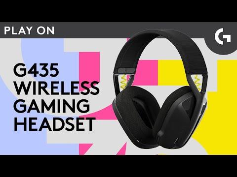 G435 LIGHTSPEED Wireless Gaming Headset: KEEP PLAYING