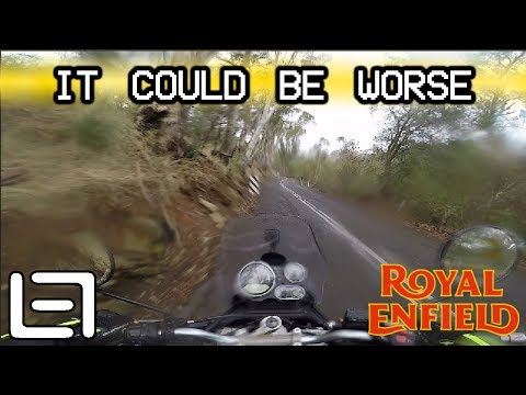 Weather Has Turned - Royal Enfield Himalayan
