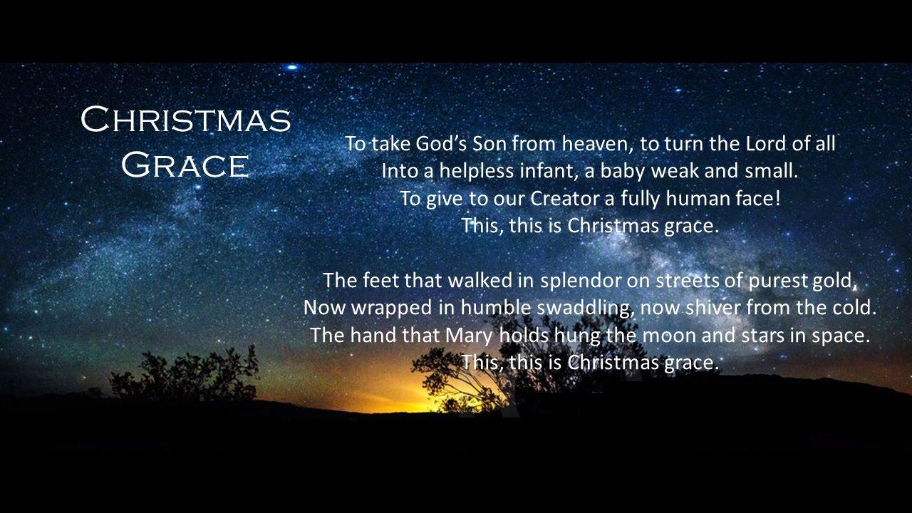 Christmas Grace.2 Christmas Grace Joy To The World Christmas Cantata 2014