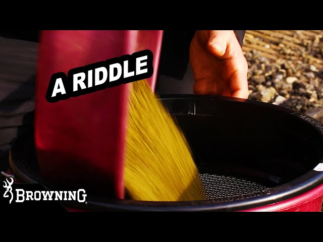 MATCH RIDDLE by BROWNING FISHING