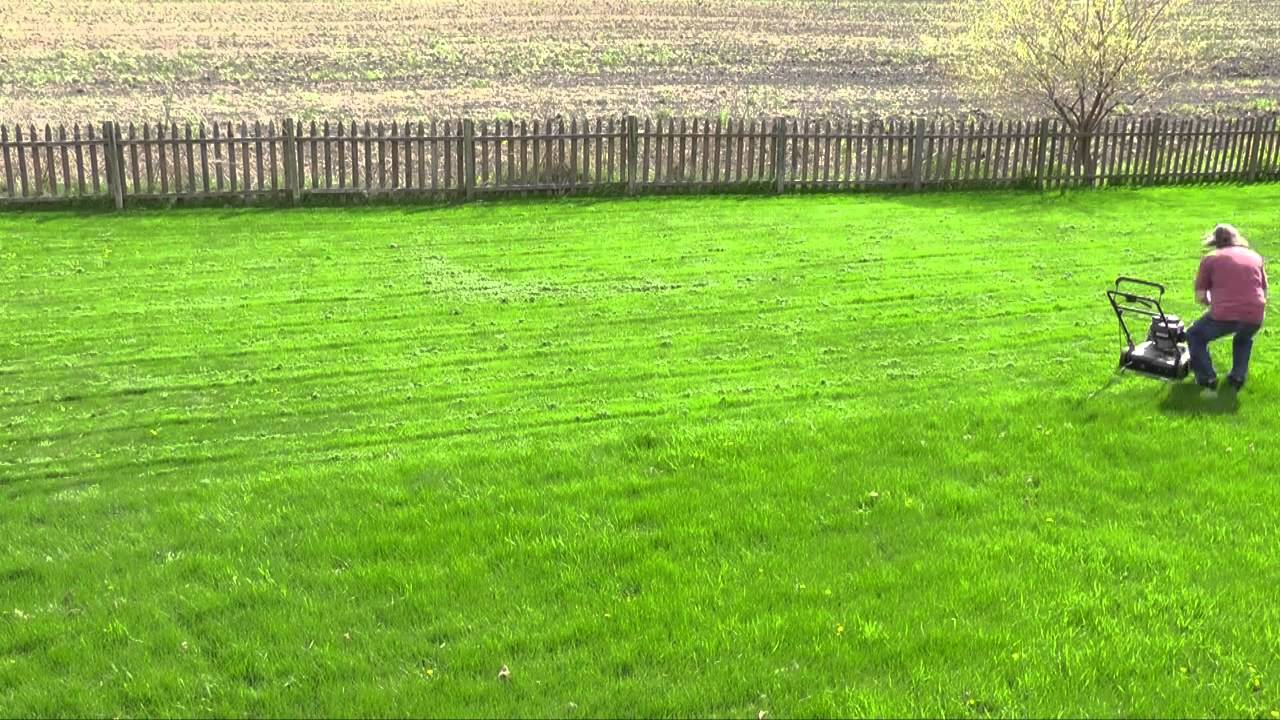 How to Mow 1/2 Acre in Under 2 Minutes - YouTube