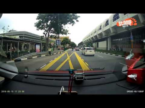Shocking accidents in Singapore caught on camera
