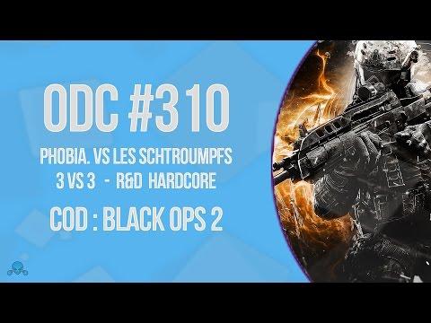 [ODC #310] Demi-Finale - BOII R&D HC - phobiA. Vs les schtroumpfs