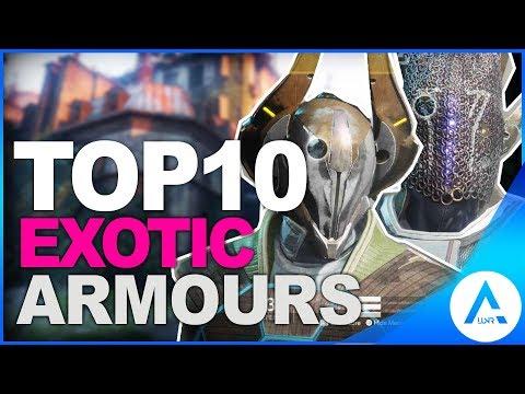 Destiny 2 Top 10 Exotic Armours for Hunter, Titan & Warlock