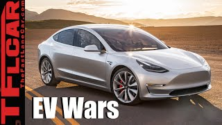 Tesla Model 3 vs Chevy Bolt vs Nissan Leaf: Which Will Win the Affordable EV Wars?