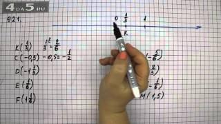Упражнение 921. Математика 6 класс Виленкин Н.Я.