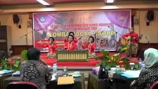 Vocal Group SMPN 5 Yogyakarta, DIY - Ratu Sejagad(Arr.Elisabeth Esti Ratna) dan Bang Bang Wus Rahino