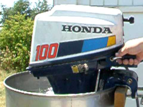Honda bf100 10hp outboard youtube for Honda outboard motor sales