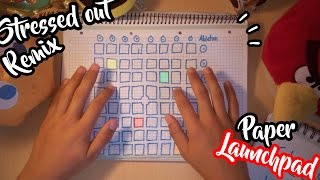 Twenty One Pilots - Stressed Out (Tomsize Remix) - PAPER LAUNCHPAD COVER (Parody)