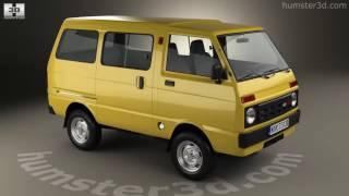 Daihatsu Hijet Tianjin TJ 110 1981 3D model by Hum3D.com