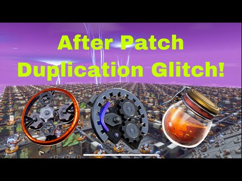 After Patch Duplication Glitch! Fortnite Save The World