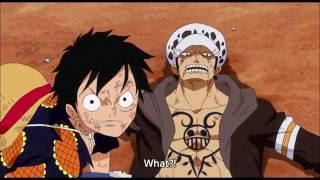 Luffy vs Doflamingo Haki Clash one piece