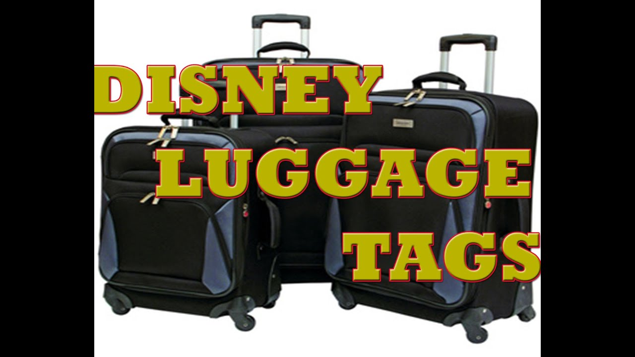 What are Disney Luggage Tags?