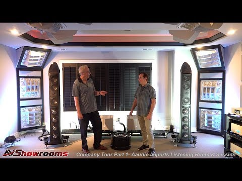 Aaudio Imports Company Tour, Pt. 1, Listening Room Equipment And Listening Session