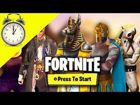 Countdown To Season 5 On Fortnite Youtube