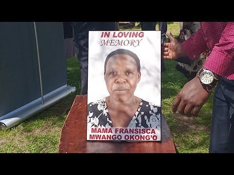 Download coverage Burial Of Mama Fransisca Mwango Okong'o