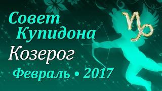 Козерог, совет Купидона на февраль 2017. Любовный гороскоп.