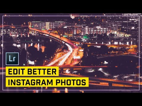 Edit Cool Instagram Photos with Lightroom!