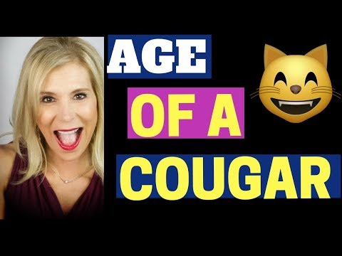 What age difference makes a woman a cougar