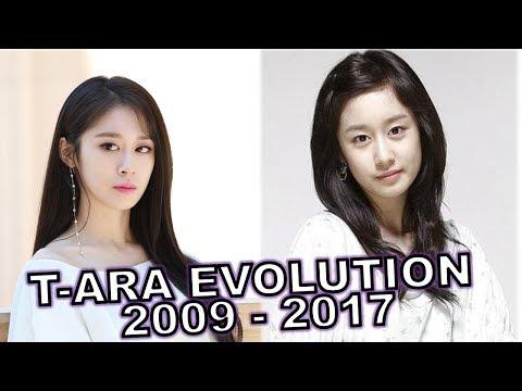 T-ara (티아라) - Evolution (2009-2017)