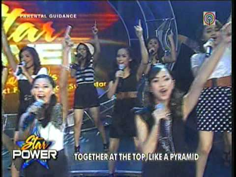 Charice's Pyramid.Sang by Sharon,Eric,Christian & Star Power 15 @ ABS-CBN(Nov-14-2010)