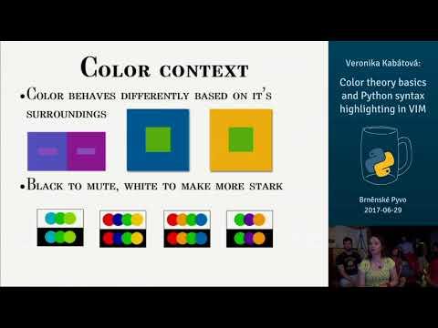 Veronika Kabátová – Color theory basics and Python syntax