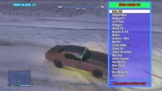 Xbox 360 GTA 5 1.26 Mod Menu Online/Offline + Download