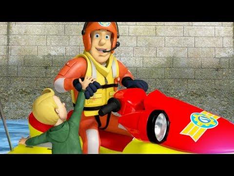 Fireman Sam US New Episodes | Float your Boat | Neptune & Juno Rescues 🚒 🔥 Cartoon for Children
