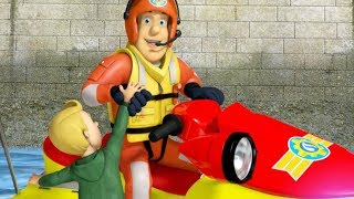 Fireman Sam US New Episodes | Float your Boat | Neptune & Juno Rescues 🚒 🔥 Cartoon for Children