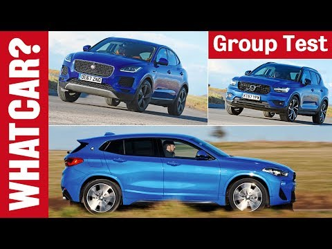 BMW X2 vs Volvo XC40 vs Jaguar E-Pace review – which 2019 4x4 SUV is best? | What Car?