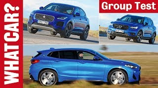 BMW X2 vs Volvo XC40 vs Jaguar E-Pace review – which 2018 4x4 SUV is best? | What Car?