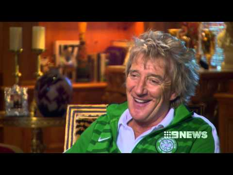 ROD STEWART RAW INTERVIEW WITH RICHARD WILKINS