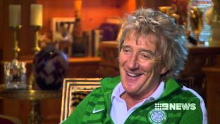 ROD STEWART RAW INTERVIEW WITH RICHARD WILKINS