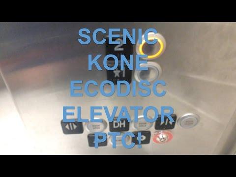 KONE EcoDisc Scenic Elevator @ Pickering Town Centre Pickering, ON (HD Retake)