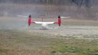 tilt rotor vtol ba609 rc scale model 1