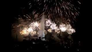 Final Feu d'artifice Fête de Geneve 2012