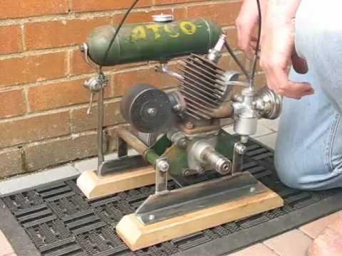 Villiers midget outboard motor