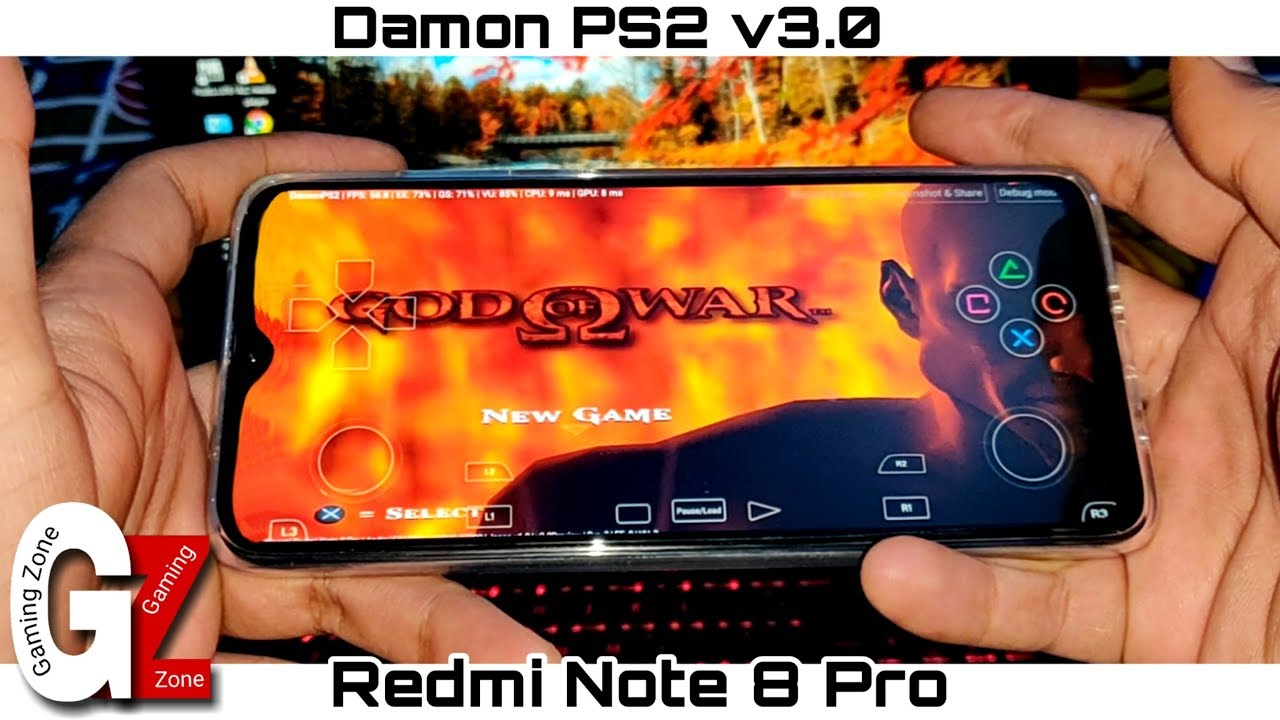 Download God Of War 1 Gameplay in Redmi Note 8 Pro   Damon PS2 v3.0