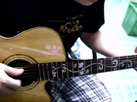 รักเธอทั้งหมดของหัวใจ - lace acoustic guitar