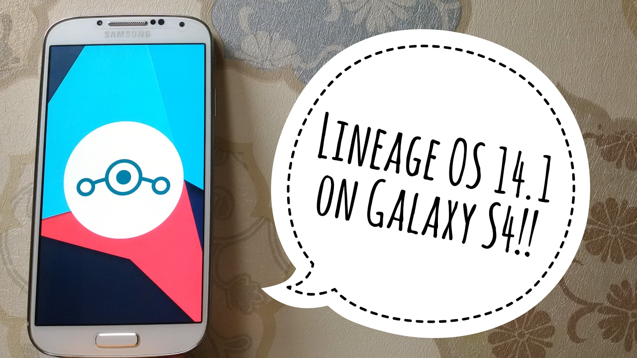 Lineage Os S4