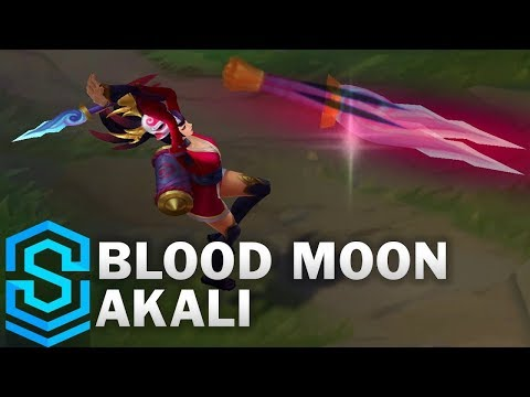 Blood Moon Akali (2018) Skin Spotlight - League of Legends