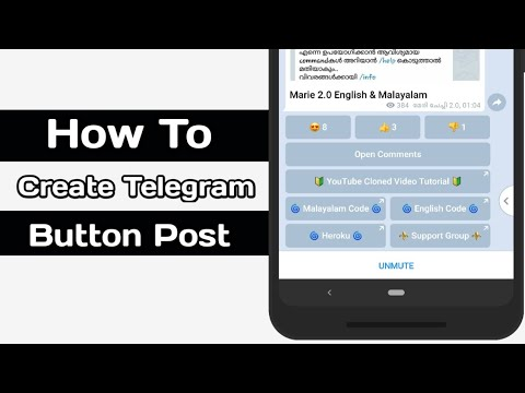 How To Create Telegram Like Button Bot | Link Button| Reaction Button ?