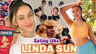 I Ate Like Liฑda Sun For A Week *EXERCISE EVERYDAY*
