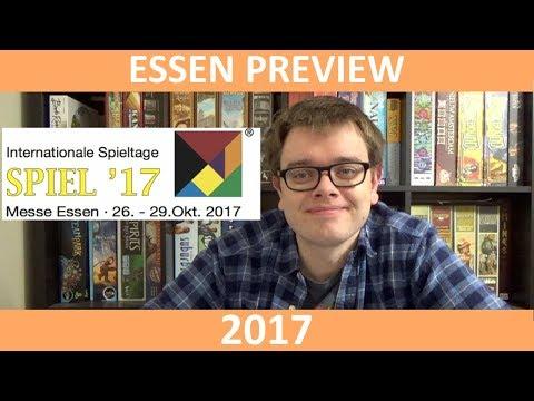 Essen SPIEL Preview 2017