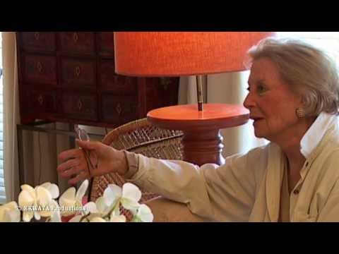 Michèle Morgan fume sa première cigarette et parle de François Périer et de René Simon