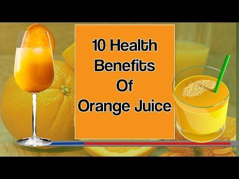 10 Health Benefits Of Orange Juice