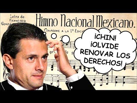MÉXICO SE QUEDA SIN HIMNO NACIONAL | SEGOB olvida renovar contrato con los dueños de los derechos